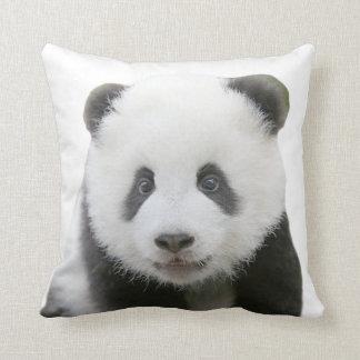 Coussin Visage de panda