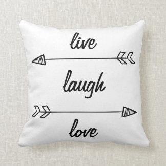 Coussin vivant d'amour de rire