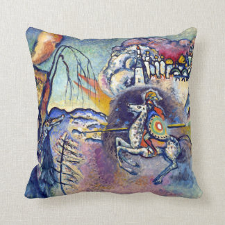 Coussin Wassily Kandinsky - St George et les cavaliers