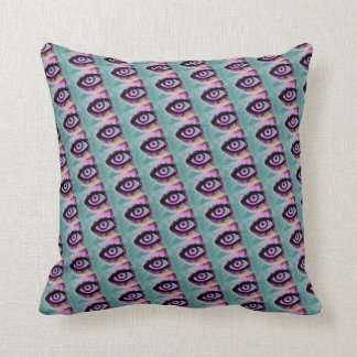 Coussin yeux pourpres