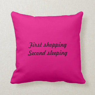 Coussin zijdige embrasser. « First shopping Second