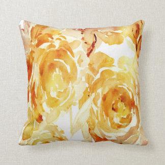 Coussins abstraits floraux Painterly de jour