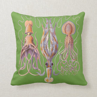 Coussins aquatiques de poulpe de Haeckel de la vie