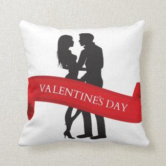 Coussins d'amour de jour de Valentines