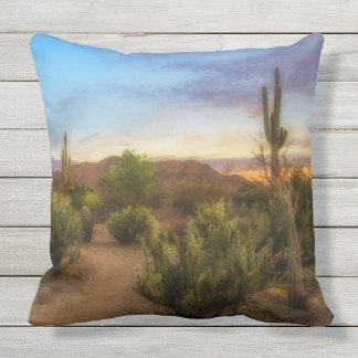 Coussins de lever de soleil de désert de l'Arizona