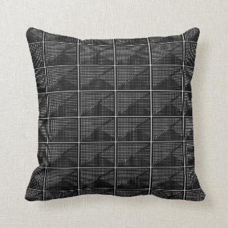 Coussins Décor-Doux blancs noirs Riche-et-Luxueux