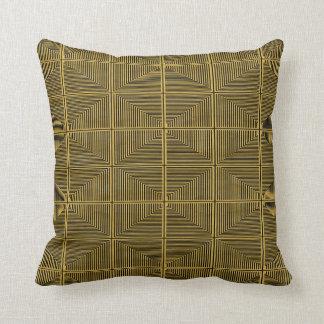 Coussins Décor-Doux d'or Riche-et-Luxueux