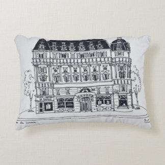 Coussins Décoratifs Architecture | Rue du Louvre, Paris de Haussmann