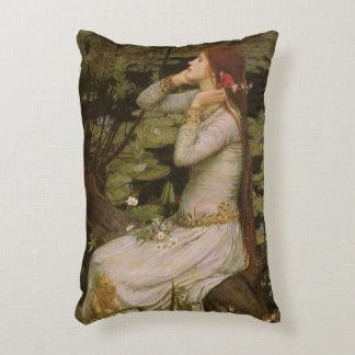 Coussins Décoratifs Art victorien, Ophélie par l'étang par le château
