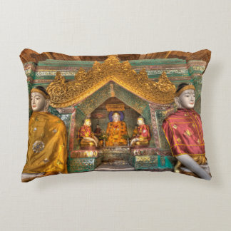 Coussins Décoratifs Buddhas dans un temple