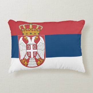 Coussins Décoratifs Drapeau de la Serbie