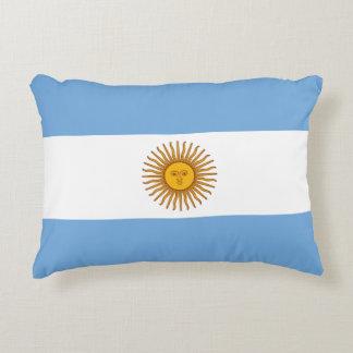 Coussins Décoratifs Drapeau de l'Argentine