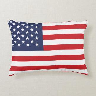 Coussins Décoratifs Drapeau des Etats-Unis d'Amérique