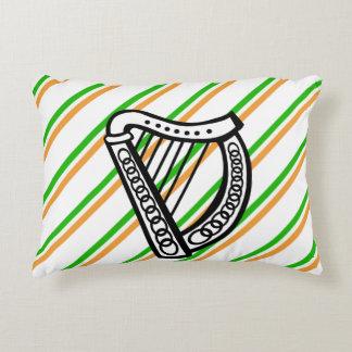 Coussins Décoratifs Drapeau irlandais de rayures