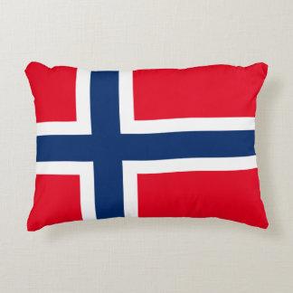 Coussins Décoratifs Drapeau norvégien