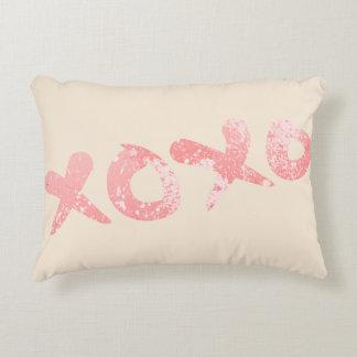 Coussins Décoratifs Éclaboussure rose de peinture de XOXO