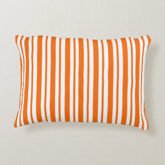 Coussins Décoratifs Filet vertical orange