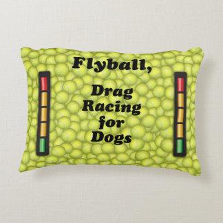 Coussins Décoratifs Flyball est entrave emballant pour des chiens !