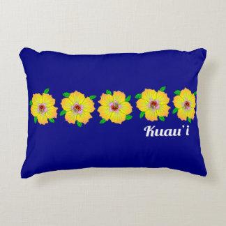 Coussins Décoratifs La ketmie hawaïenne fleurit Kauai Hawaï