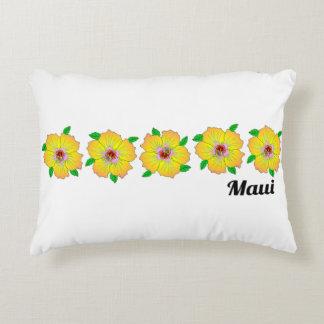 Coussins Décoratifs La ketmie hawaïenne fleurit Maui Hawaï