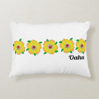Coussins Décoratifs La ketmie hawaïenne fleurit Oahu Hawaï
