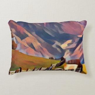 Coussins Décoratifs moderne, dadaism, numérique, peinture, colorée,