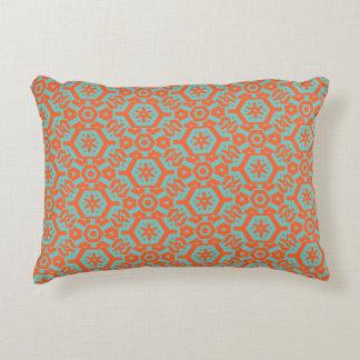 Coussins Décoratifs Mousse 4Ophelia géométrique orange de mer