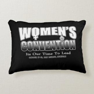 Coussins Décoratifs Mouvement de la convention des femmes - carreau de