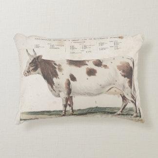 Coussins Décoratifs Oreiller vintage merveilleux et bel de vache