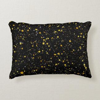 Coussins Décoratifs Parties scintillantes Stars3 - Noir d'or