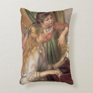 Coussins Décoratifs Pierre jeunes filles de Renoir un | au piano