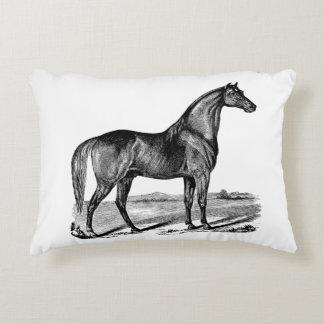 Coussins Décoratifs Position vintage de cheval