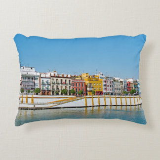 Coussins Décoratifs Remblai de la rivière du Guadalquivir en Séville