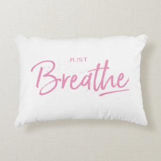 Coussins Décoratifs Respirez juste, yoga, citation de zen