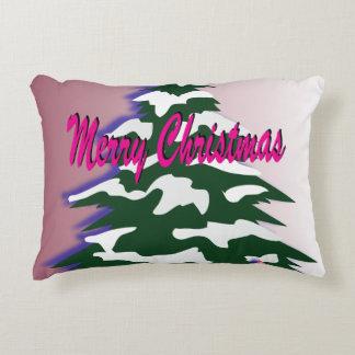 Coussins Décoratifs Rétro arbre de Joyeux Noël