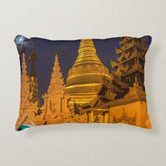 Coussins Décoratifs Stupa d'or et temples
