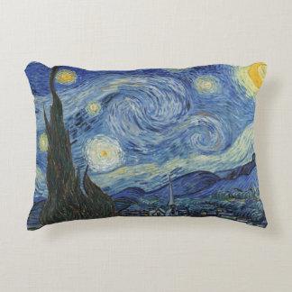 Coussins Décoratifs Vincent van Gogh | la nuit étoilée, juin 1889