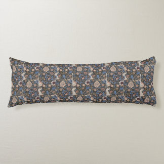 Coussins Longs Conception vintage de textile de William Morris