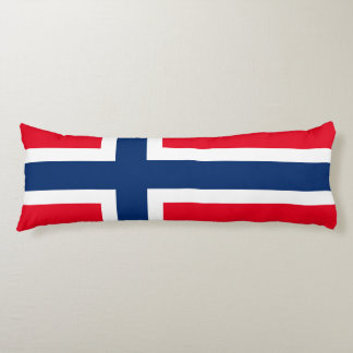 Coussins Longs Drapeau norvégien