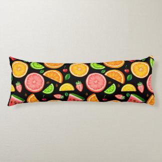 Coussins Longs Fantaisie de fruit