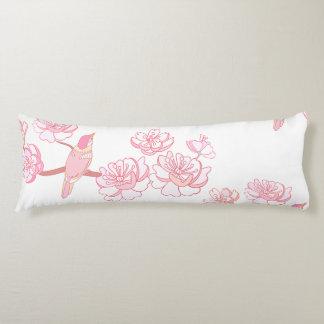 Coussins Longs Sakura, fleur de ressort, fleurs de cerisier