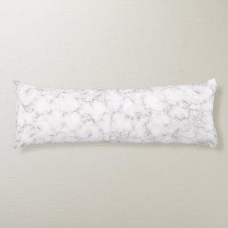 Coussins Longs Style de marbre élégant
