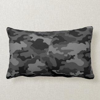 Coussins noirs de coussin du camouflage #2 de Camo