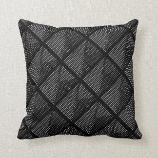 Coussins Riche-et-Luxueux du noir Decor-Soft#3