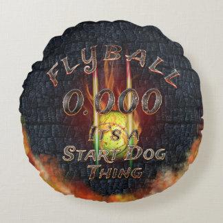 Coussins Ronds 0,000 Flyball Flamz : C'est une chose de chien de