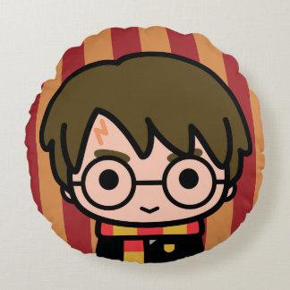 Coussins Ronds Art de personnage de dessin animé de Harry Potter