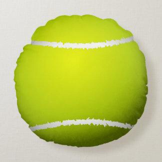Coussins Ronds Balle de tennis fraîche réaliste