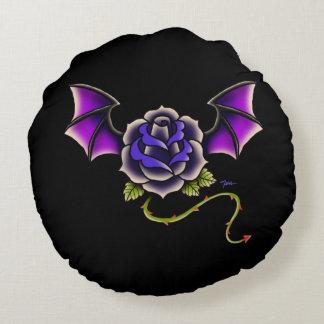 Coussins Ronds Batte rose