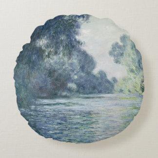 Coussins Ronds Branche de Claude Monet | de la Seine près de