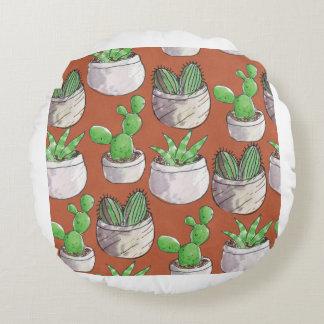 Coussins Ronds cactus